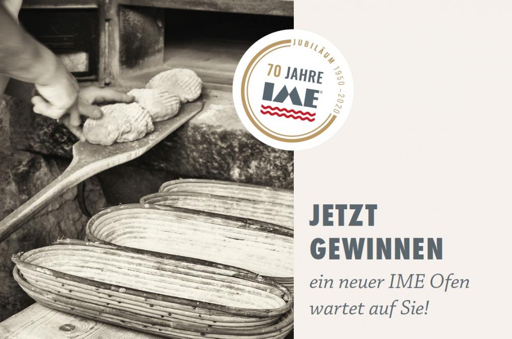 Bereits seit 70 Jahren gibt es IME Brotbacköfen. Sie sind mittlerweile aus der Direktvermarktung kaum noch wegzudenken (Bildquelle: IME).