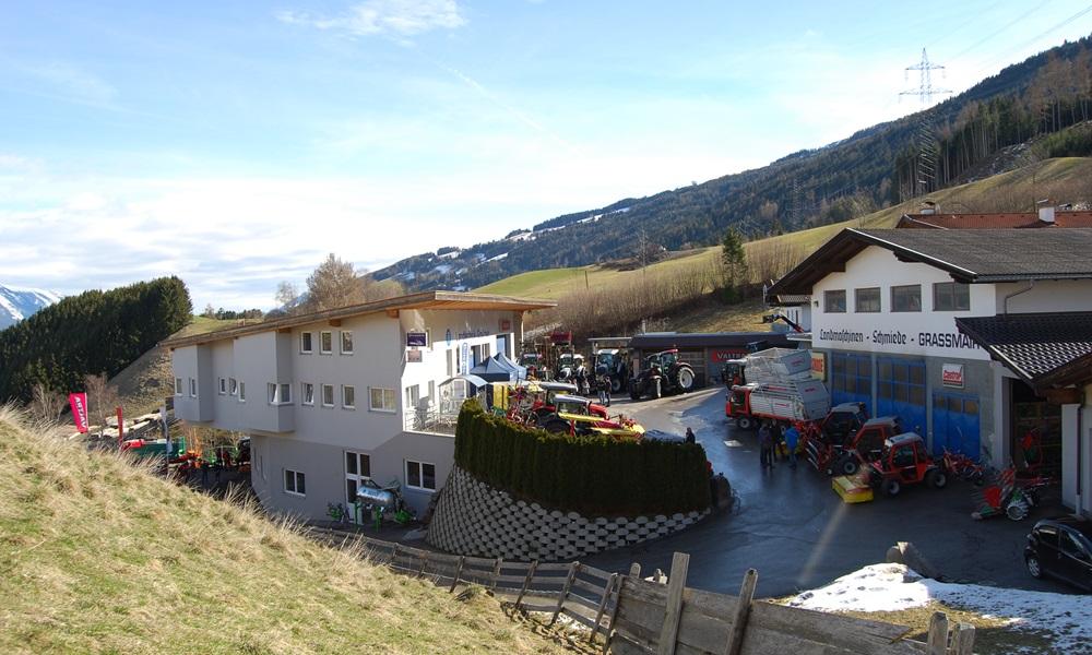Graßmair Landtechnik und Schlosserei GmbH in Rinn hat nun einen neuen Webauftritt (Bildquelle: Graßmair).