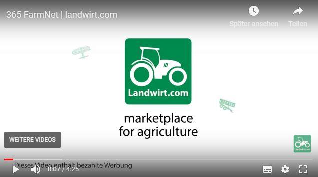 Schauen Sie brandaktuelle Landtechnik Videos jetzt auch wieder direkt über die Landwirt.com App.