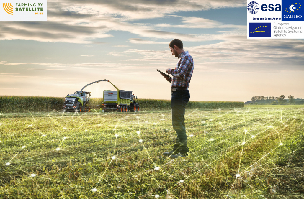 Der Wettbewerb FARMING BY SATELLITE dient dem kontinuierlichen Ausbau der Nutzung von GNSS- und Erdbeobachtungssystemen in der europäischen und afrikanischen Landwirtschaft.