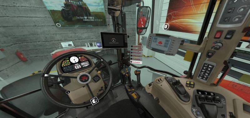 Jede MF-Maschine lässt sich virtuell von allen Seiten begutachten.